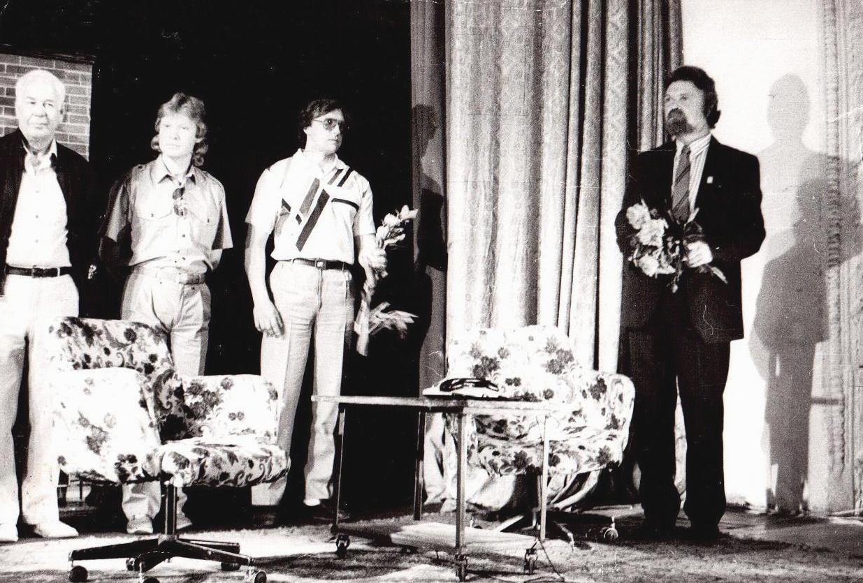 """Гастроли Театра-студии """"Бенефис"""" в Ельце, 1993 год"""
